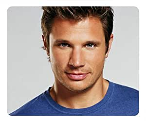 Nick Lachey oblong mouse pad by eggcase