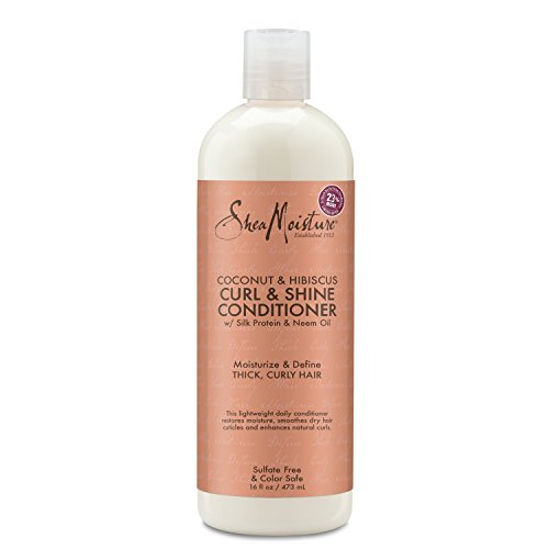 (SheaMoisture Coconut & Hibiscus Curl & Shine Conditioner | 16 fl. oz.)