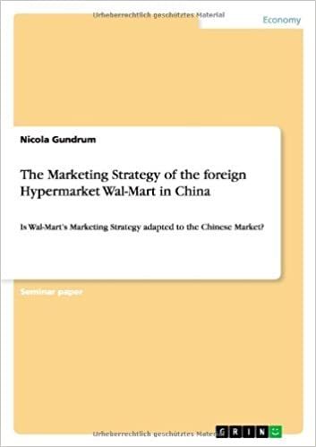 The Marketing Strategy of the foreign Hypermarket Wal-Mart