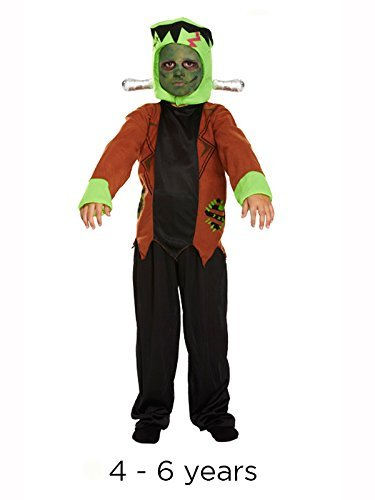 bambino Halloween Frankenstein Monster Costume S 4 - 6 anni  Amazon ... 9d3414b2b43