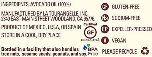 La Tourangelle Avocado Oil 8.45 Fl. Oz., All-Natural, Artisanal, Great for Salads, Fruit, Fish or Vegetables, Great Buttery Flavor by La Tourangelle (Image #2)