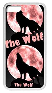 Wofe Moon Case Cover for Iphone 5C, TPU Material wangjiang maoyi