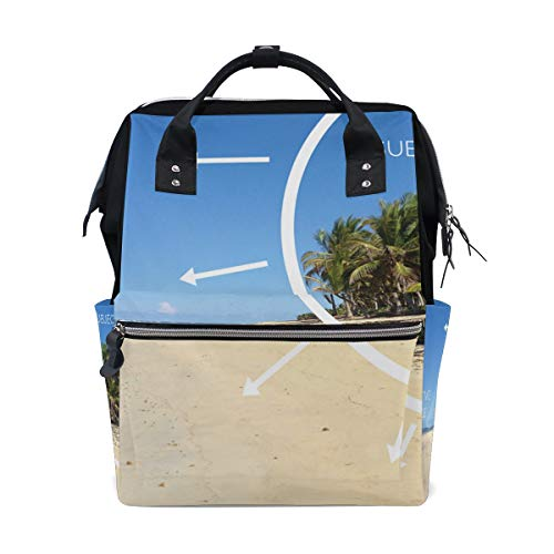 Backpack What is Negative Space Womens Laptop Backpacks Hiking Bag Travel Daypack -