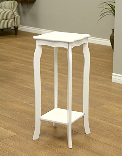 Frenchi Home Furnishing Plant Stand, Small, White (Stand White Plant)