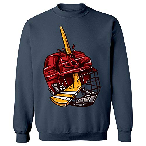 Peyton Winks Hockey Heroes - Play Hard - Sweatshirt Navy