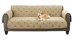 Amazon Com South Bay Sofa Embroidery Pet Protector With