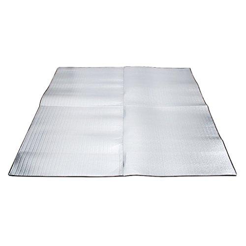 F Fityle Picnic Isomat Camping Deken Aluminium Mat Waterdichte Vloermatten – 200x200cm