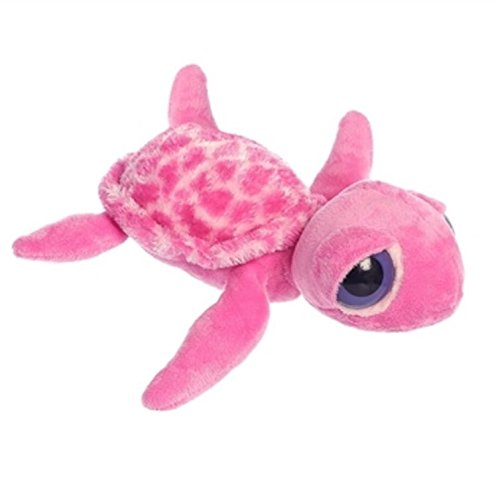 10'' Plush Pacifica The Pink Sea Turtle (Turtle Plush 10')