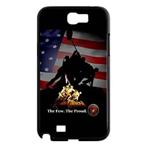 Personalized USMC Marine Corps The Few.The Proud Samsung Galaxy Note 2 N7100 Hard Plastic Back Wearproof And Sleek Case Cover
