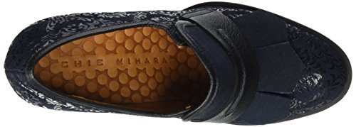 Navy Moccasins Navy Navy flash Snow Mihara Chie Blue Minn Women's pwz4Zfq