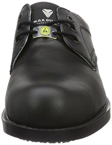 Maxguard G303, Unisex-Erwachsene Sicherheitsschuhe, Schwarz (Schwarz), 39 EU