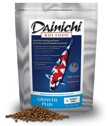 Product image of Dainichi KOI - GROWTH-PLUS (11 lb) Bag - Medium Pellet