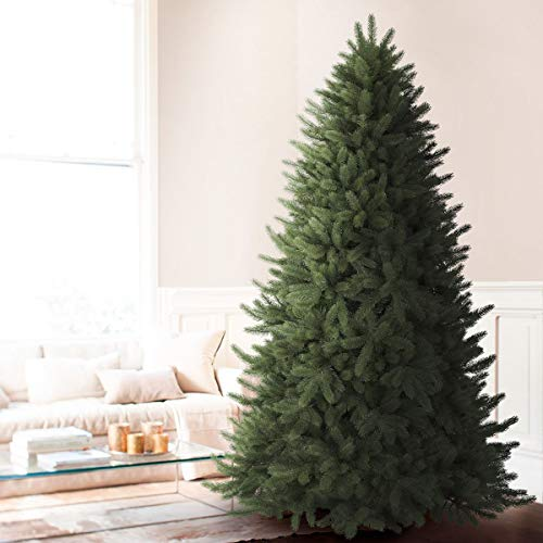 Artificial Christmas Trees Amazon Uk: Balsam Hill Vermont White Spruce Narrow Premium Artificial