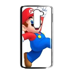 LG G2 Cell Phone Case Black_Super Smash Bros Mario_003 Teuzy