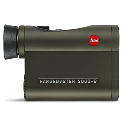 Leica Rangemaster CRF 2000-B Edition 2017 - Forest Green Armoring, Special Case 40538 by Leica
