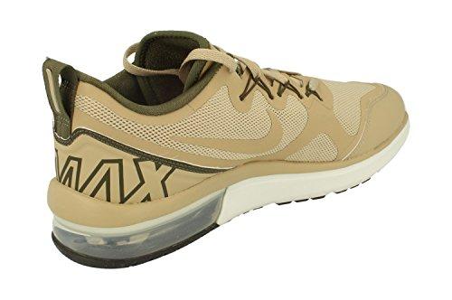 Nike Heren Air Max Fury Hardloopschoenen Kaki Cargo Off White 201