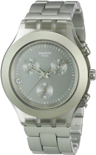 Swatch Men's SVCG4000AG Plastic Analog with Grey Dial Watch -