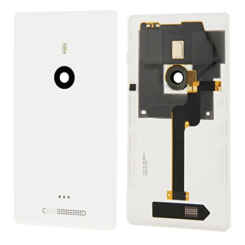 ZHANGJUN Replacement Parts Housing Battery Back Cover with Flex Cable for Nokia Lumia 925(Black) Spare Parts (Color : White) (Nokia Lumia 925 Best Price)
