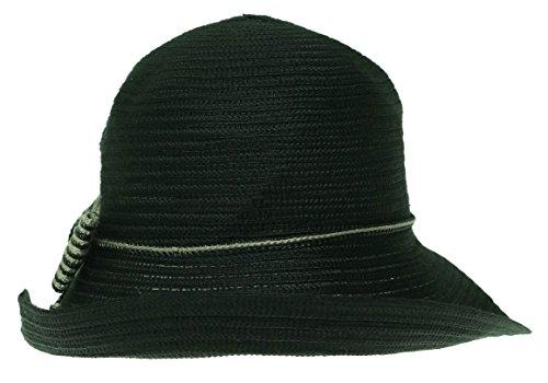 UPC 766288903401, August Womens Upbrim W/ Trim Hat One Size Black