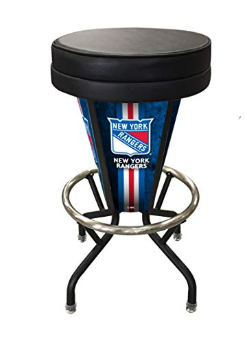 Holland Bar Stool Co. Indoor/Outdoor Lighted LED Vancouver Canucks Swivel bar Stool ()
