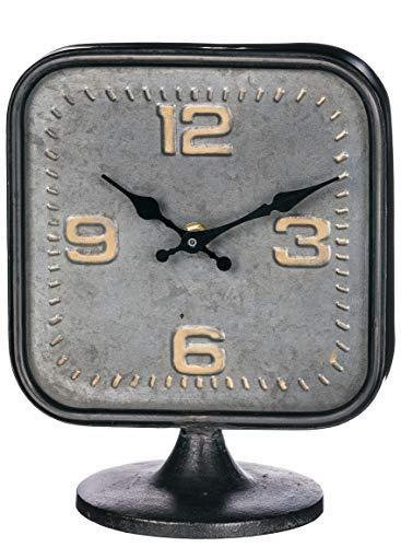 Sullivans Vintage Square Desktop Clock