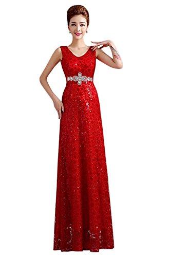 Rot Drasawee Kleid Kleid Empire Drasawee Damen Rot Damen Empire Damen Kleid Drasawee Empire qnXZHpAxgw