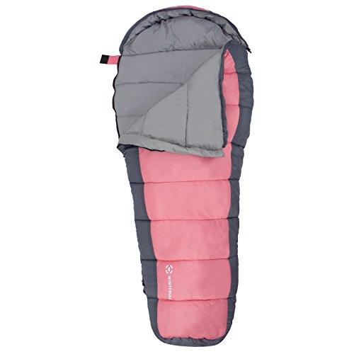 Winterial Kids Sleeping Bag, Youth Mummy Bag for
