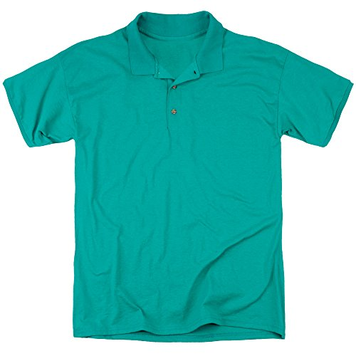 Back To The Future Mens Make Like A Tree (Back Print) Polo, X-Large, Kelly Green