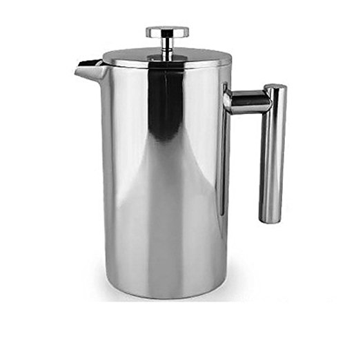 Xhhome French Press Coffee Tea Pot Brewer With Filter