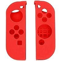Nintendo Switch Controller silikon kılıf/anahtarı Kırmızı