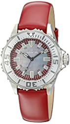 Invicta Women's 18492SYB Pro Diver Analog Display Swiss Quartz Red Watch