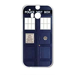 Doctor Who Doctor Tardis HTC One M8 Phone Case Nupro Lightweight Protective Snap-on Case
