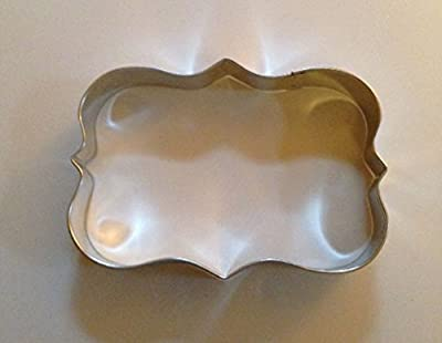 "5"" Plaque Cookie Cutter"