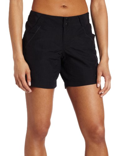 Columbia Women's Coral Point II Short, UV Sun Protection, Moisture Wicking Fabric, Black, Medium x 6