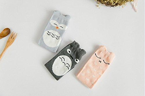 Qteland Toddler Knee High Socks Infant Stockings Tube Socks for baby 6-pack