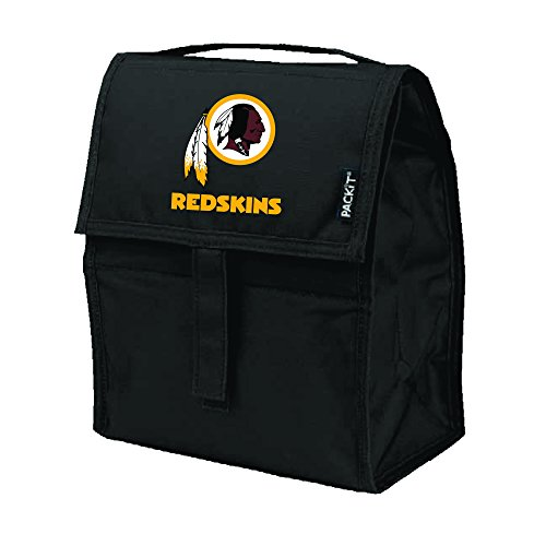 Kolder NFL Washington Redskins Packit Freezable Lunch Bag