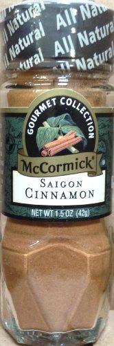McCormick Gourmet SAIGON CINNAMON 1.5oz (2 Pack) by McCormick