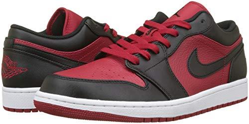 Rouges Basketball Air Homme Pour 1 Jordan Low Blanc Noir rouge Chaussures De 610 Nike zwpYxqw