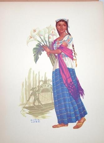 Trajes Regionales Mexicanos / Regional Mexican Costumes: Amazon.com: Books