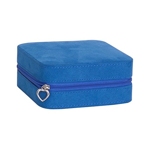 mele-co-cagney-plush-fabric-travel-jewelry-box-royal-blue