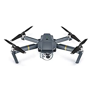 DJI Mavic Pro Quadcopter Drone Fly More Combo Pack with 4K Camera and Wi-Fi, 3 Batteries, Custom Case, Charging Hub, Three Piece Multi Coated Filter Kit VR Goggles Virtual Reality Experience from DJI