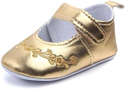 Zapatos De Bebé Zapatillas de Deporte de bebé recién Nacido Patucos Primeros Pasos Zapato de Cuero Zapatillas Antideslizantes para niñas pequeños ...