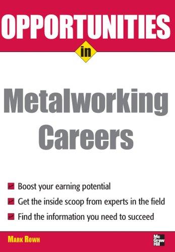 Opportunities in Metalworking