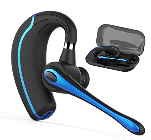 Headset Universal Bluetooth (Walless Bluetooth Headset,Wireless Earpiece V4.1Hands Free Microphone for Business, Office,Driving,Work for iPhone/Samsung/Android Cell Phones)