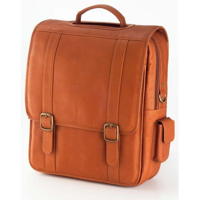 (Clava Vachetta Leather Upright Porthole Brief (Vachetta Tan))