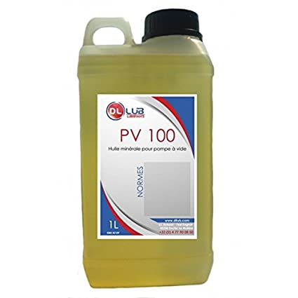 DLLUB aceite-Bomba de vacío PV 100-1 litro