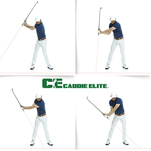 Caddie Elite Fix Your Swing in Seconds - Plane Sight Laser Golf Training Aid (Best Golf Training Aid For Swing Plane)