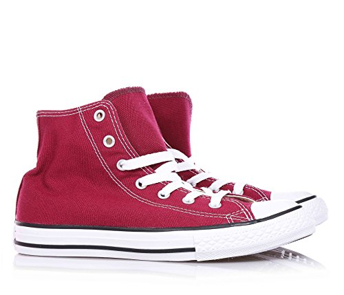 Converse - All Star HI - 352806C - Color: Blanco-Rojo - Size: 30.0