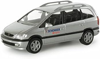 Herpa 047463 Opel Zafira DB Schenker Logistics: Amazon.es ...