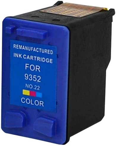 22; Models: Deskjet 3910 etc; Multi Color Ink: RC9352 MG Re-Manufactured Inkjet Cartridges 3930 Replacement for HP C9352AN 3920